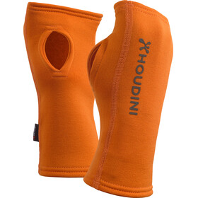 """Houdini Power Wrist Gaiters Roots Orange"""